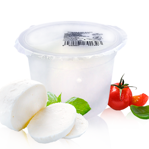 Mozzarella Búfala BIO (125 g) Borbonia.