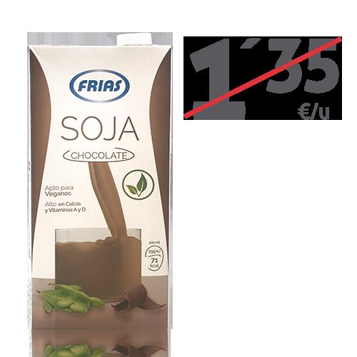 Beguda de Soja amb Xocolata (1 l) Frias