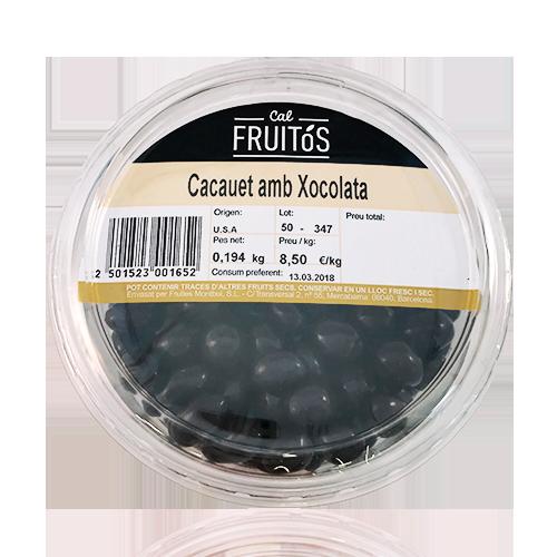 Cacauet amb Xocolata Safata (200g)