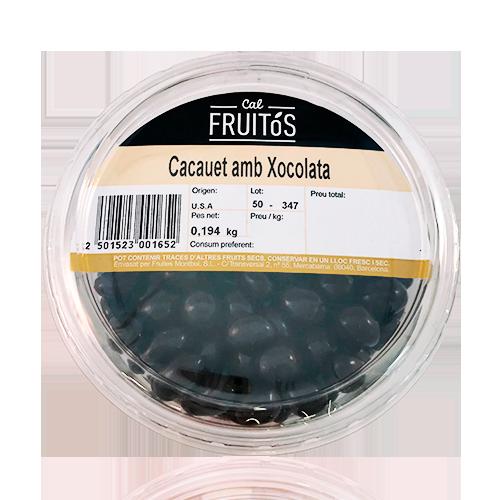 Cacauet amb Xocolata Safata (200 g)