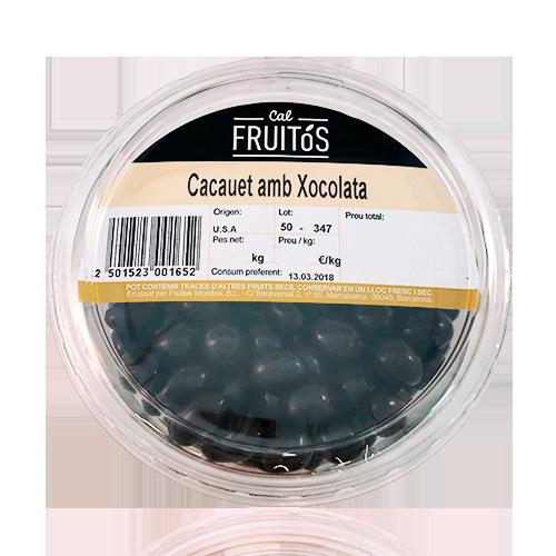 Cacauet amb Xocolata Negra Safata (200 g)