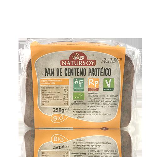 Pa de Sègol proteic (250 g) Natursoy