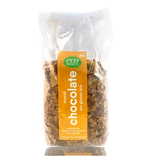 Muesli chocolate s/gluten (500 g) EcoBasics