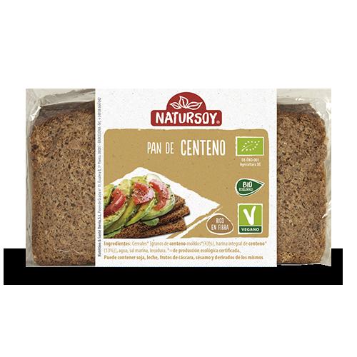 Pan de centeno (500 g) Natursoy