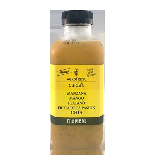 Zumo tropical con chía (0.5L) Agrofresc