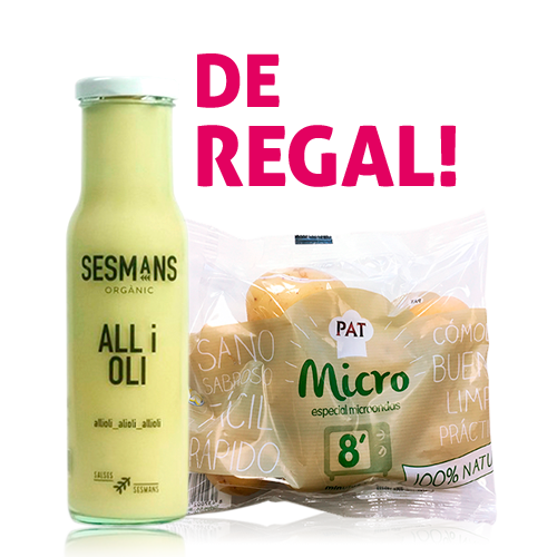 Pack Allioli Sesmans+ patates