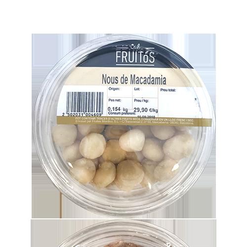 Nous de Macadamia (150g) Cal Fruitós