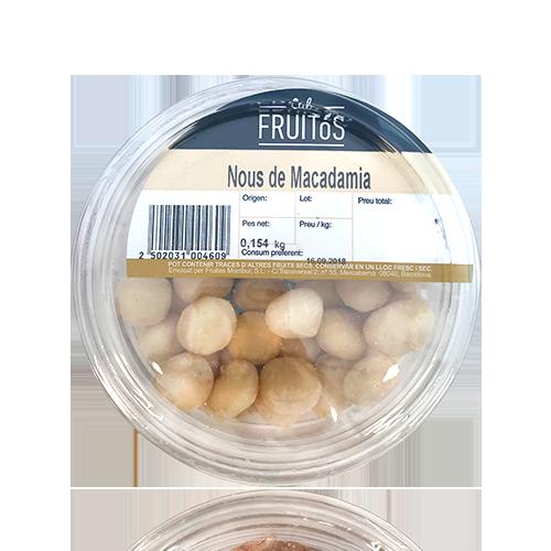 Nueces de Macadamia (160 g) Cal Fruitós