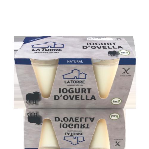 Yogur de oveja (2x125 g) La Torre