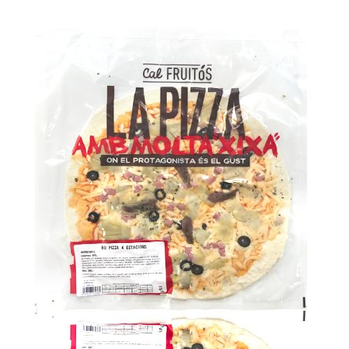 Pizza 4 estacions (370 g) Cal Fruitós