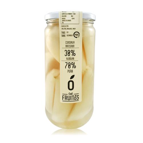 Pera en almíbar (700 g) Cal Fruitós