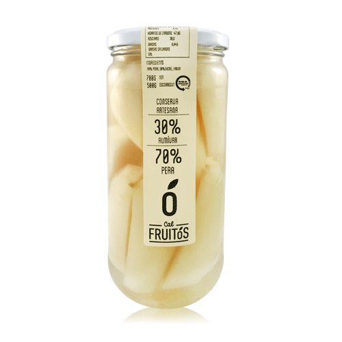 Pera en almívar (700g) Cal Fruitós