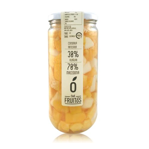 Macedonia Almíbar (700 g) Cal Fruitós