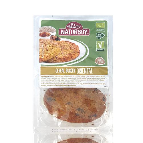 Hamburguesa de Cereals Oriental (160 g) Natursoy