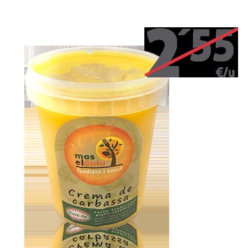 Crema de Carbassa (0.5 l) Mas el Guiu