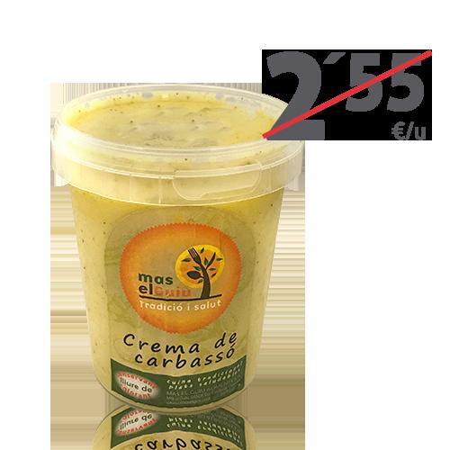 Crema de Carbassó (0.5 l) Mas el Guiu
