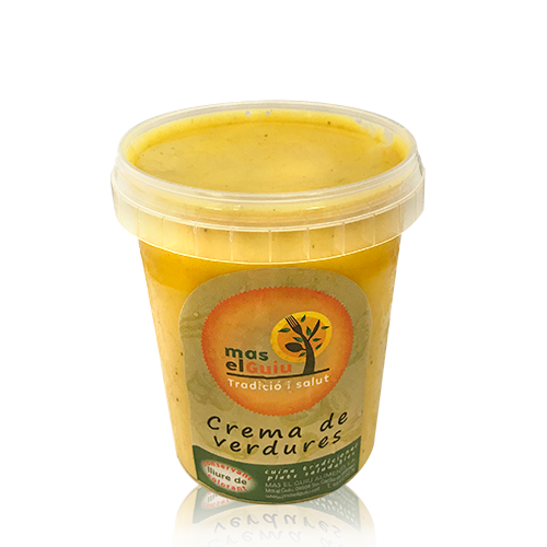 Crema de Verdures (0.5 l) Mas el Guiu