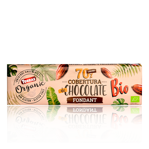 Xocolata Orgànic Cobertura 70% Cacau (250 g) Torras