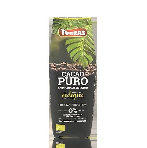 Cacao Pur Desgreixat en Pols (150 g) Torras