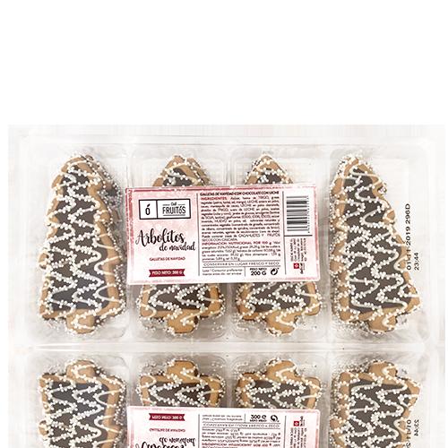 Galetes d'arbrets de nadal (200 g) Cal Fruitós