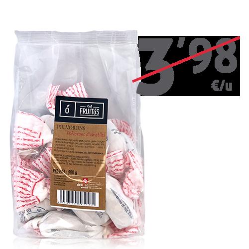 Polvorones de almendras (500 g) Cal Fruitós