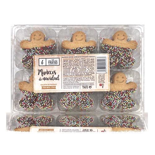 Galetes de ninots de nadal (170 g) Cal Fruitós