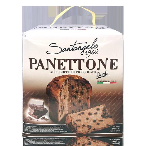 Panettone cioccolato dark (900g) Santangelo