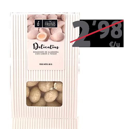 Delicatias de yogur (80g) Cal Fruitós