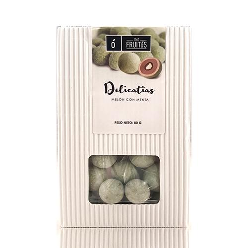 Delicatias de meló amb menta (80 g) Cal Fruitós
