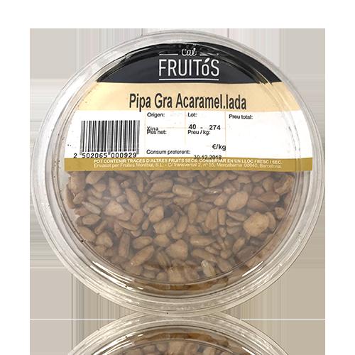 Pipa grano acaramelada (160 g) Cal Fruitós
