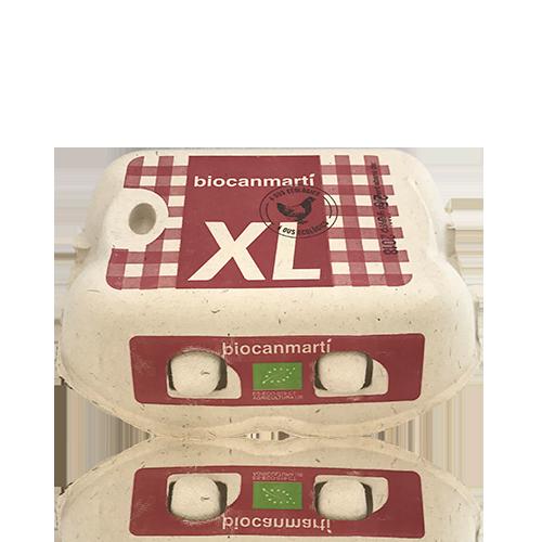 Ous ecològics XL 1/2 dotzena