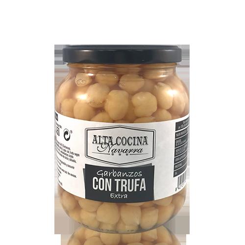 Cigrons amb Tòfona (660 g) Alta Cocina Navarra
