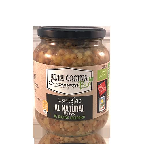 Llenties (660g) Alta Cocina Navarra