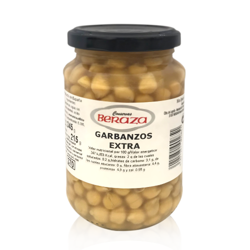 Garbanzos Extra (345 g) Beraza