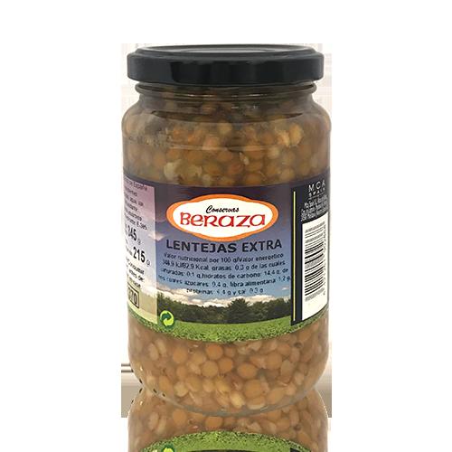 Lentejas Extra (345 g) Beraza
