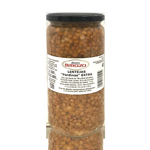 Lentejas Pardinas Extra (660 g) Beraza
