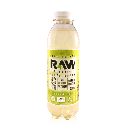 Raw Organic Limón y Lima (500ml)