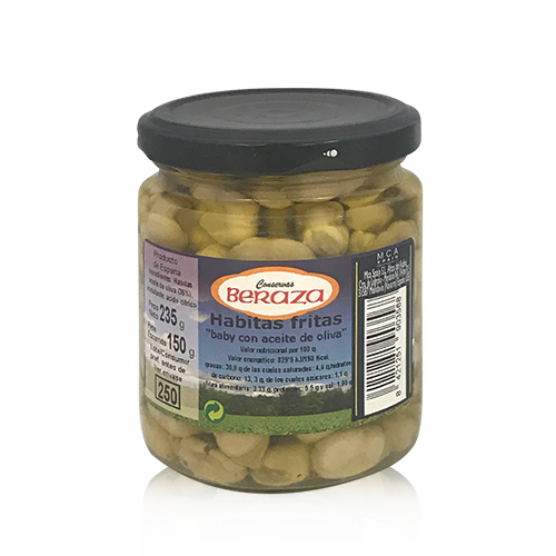 Habitas Fritas con Aceite de Oliva (235 g) Beraza