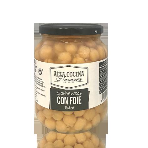 Cigrons amb Foie Extra (660 g) Alta Cocina
