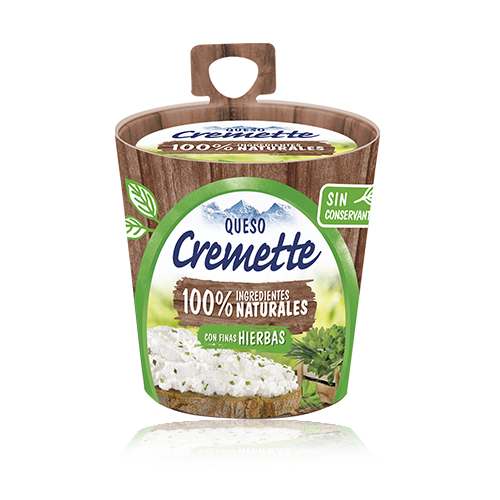 Formatge per Untar amb Fines Herbes (150 g) Cremette Premium Hochland