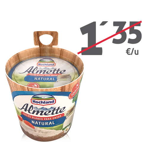Formatge per Untar Natural (150 g) Hochland