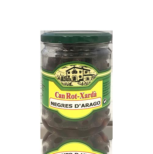 Aceitunas Negras Aragón (445 g) Can Rot-Xardà