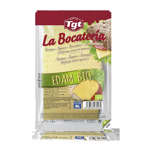 Formatge Edam Bio Rodanxes (100 g) La Bocatería