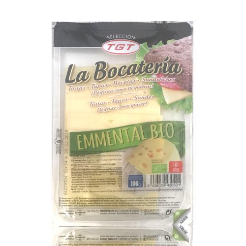 Formatge Emmental Bio Rodanxes (100 g) La Bocatería