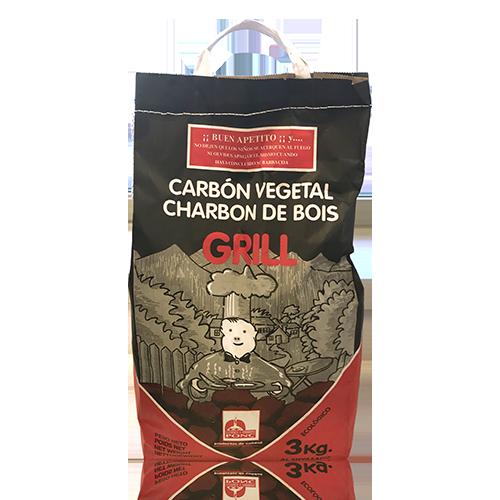 Carbó Vegetal 3 kg Ponç