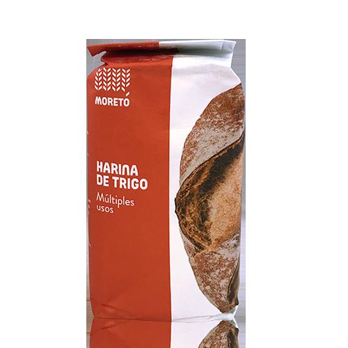 Harina de Trigo Multiusos (1 kg) Moretó