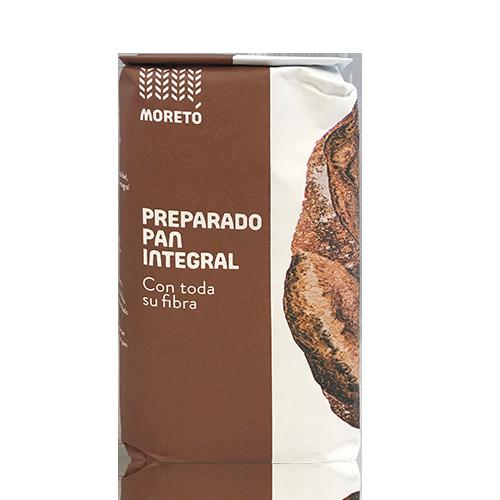 Preparado de Harina para Pan Integral (1 kg) Moretó