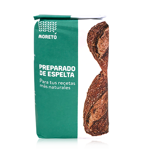 Preparado de Harina d'Espelta (1 kg) Moretó