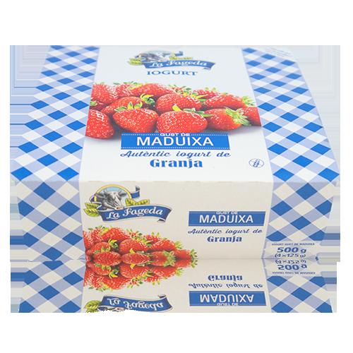 Iogurt Maduixa (125 g x4) La Fageda