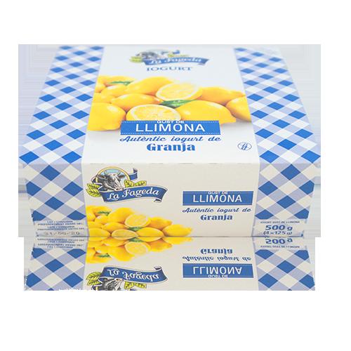 Iogurt Llimona (125 g x4) La Fageda